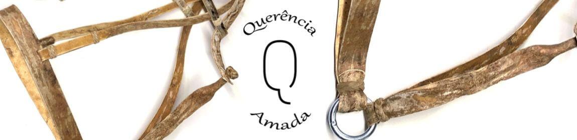 Banner Buçal para Cavalo em couro cru estilo crioulo